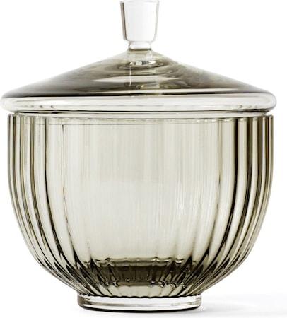Bonbonjär Glas Smoke Ø10 cm
