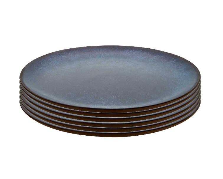 Raw Desserttallrik Midnight Blue 20 cm 6 st