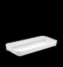 Grand Cru Serveringsplade 35x15 hvid