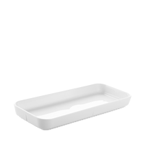 Grand Cru Serveringsplate 35x15 hvit
