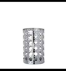 Cane Lanterne Laiton Nickelé 11 cm