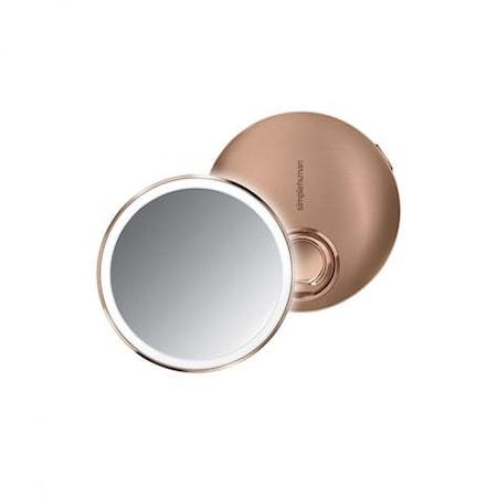 Sensor Spegel Kompakt Roséguld Rostfritt Stål 10 cm