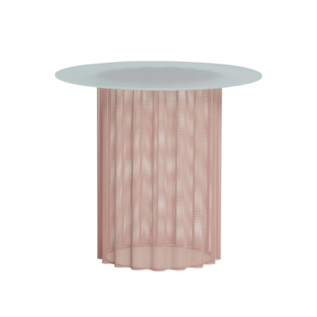 Bord Frostat Glas Nude