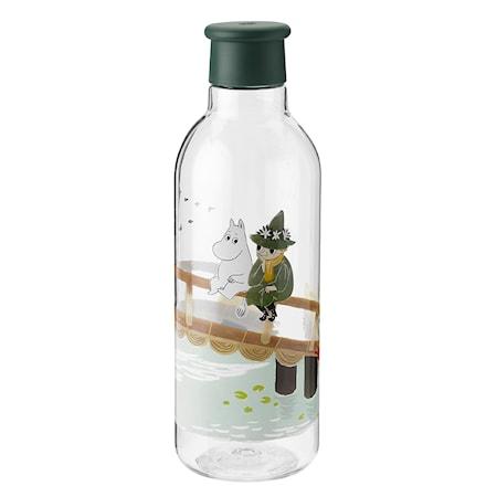 DRINK-IT Mumin Vattenflaska Dark Green 0.75 L