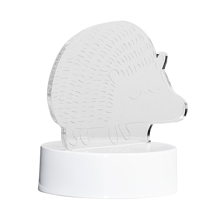 Bordlampe pindsvin 17x15 cm