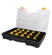 Sorteringsbox, svart/gul 24''
