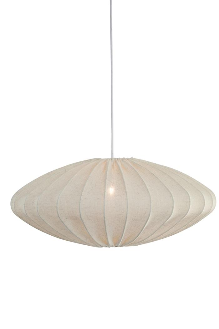 Ellipse Taklampe Creme 65 cm