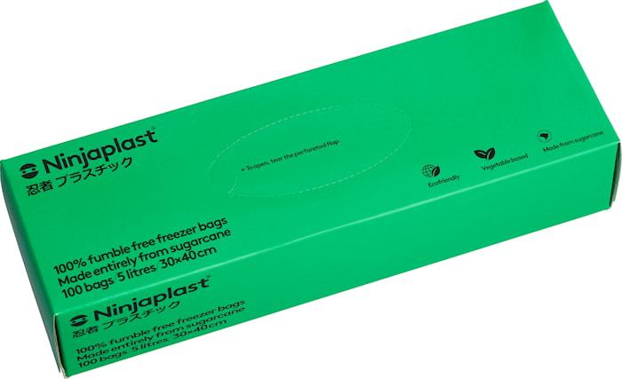 Pakastuspussit Fossiilivapaat 5 litraa 100-pack