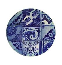 Lisboa Serving Dish Blue Tile