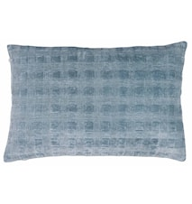 Putetrekk Velvet Box - Cashmere Blue