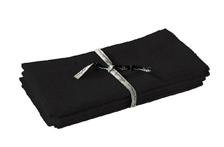 Erik serviet – Black
