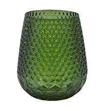 Carma Vas H: 14 cm Glas Grön