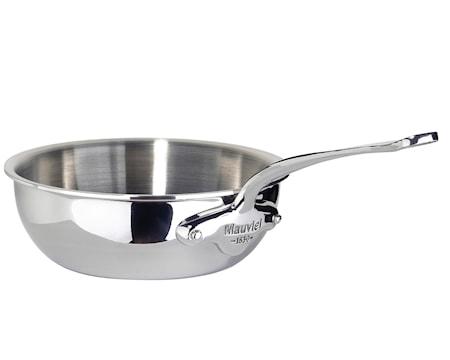 Cook Style Sautépanna Rundad 28L Blank Stål