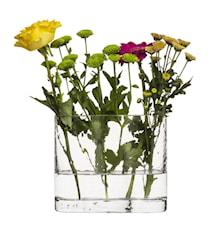 Siluett vase, klar