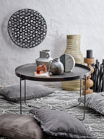 Carli Soffbord Svart Aluminum