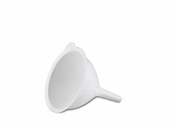 Suppilo 14 cm muovia valkoinen