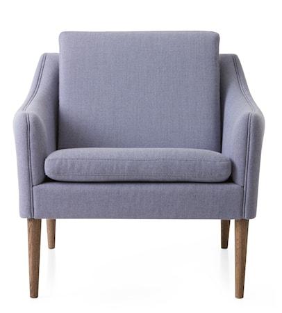 Mr. Olsen Lounge Chair Soft Violet Smoked Ek