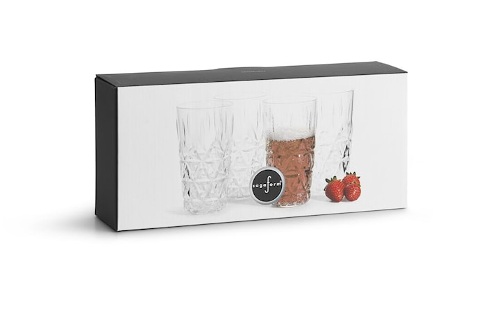 Picknick Allglas Transparent 40cl 4-Pack