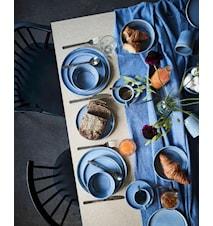 Sonja Blå Middagstallerken 2-pak