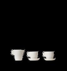 Miniature Teset Keramik Off-White