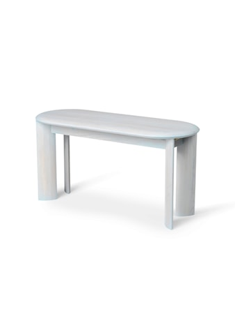 Bevel Bench - Ice Blue