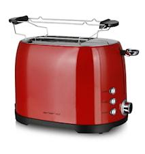 Toaster 2 Scheiben Rot
