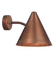 Tratten Vägglampa Koppar
