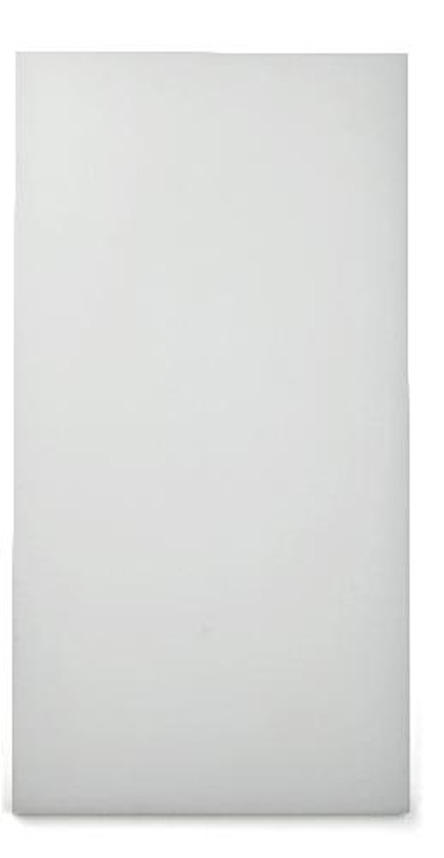 Skjærebrett 49x25 cm Hvit