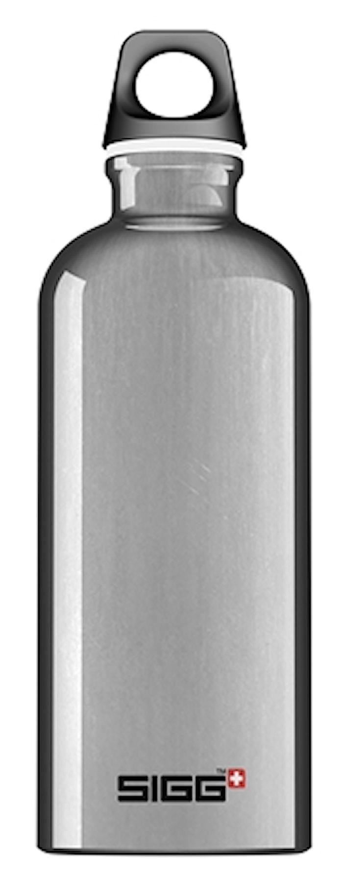 Flaska Traveller 0,6 l Aluminium