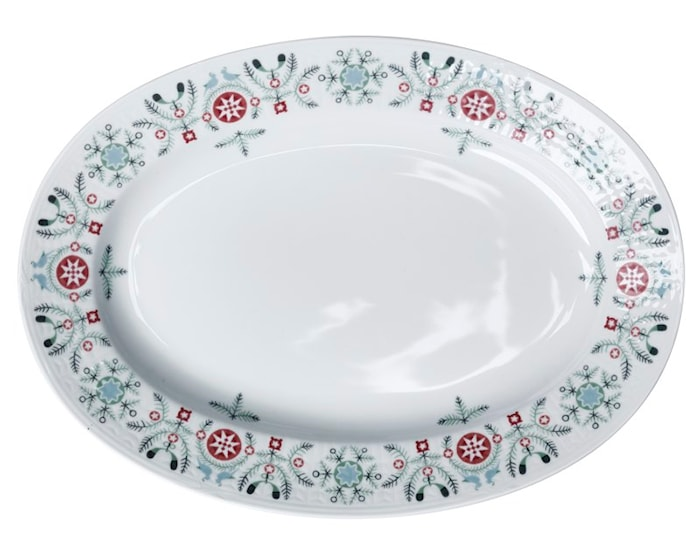 Swedish Grace Winter Ovaali Lautanen 32 cm