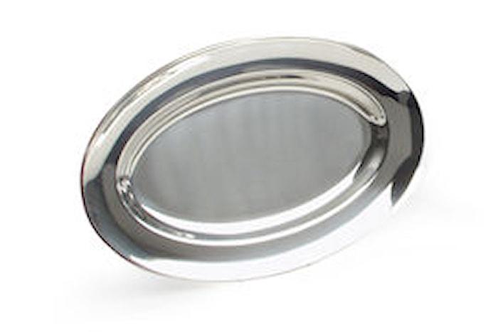 Serveringsfad ovalt 48x31 cm