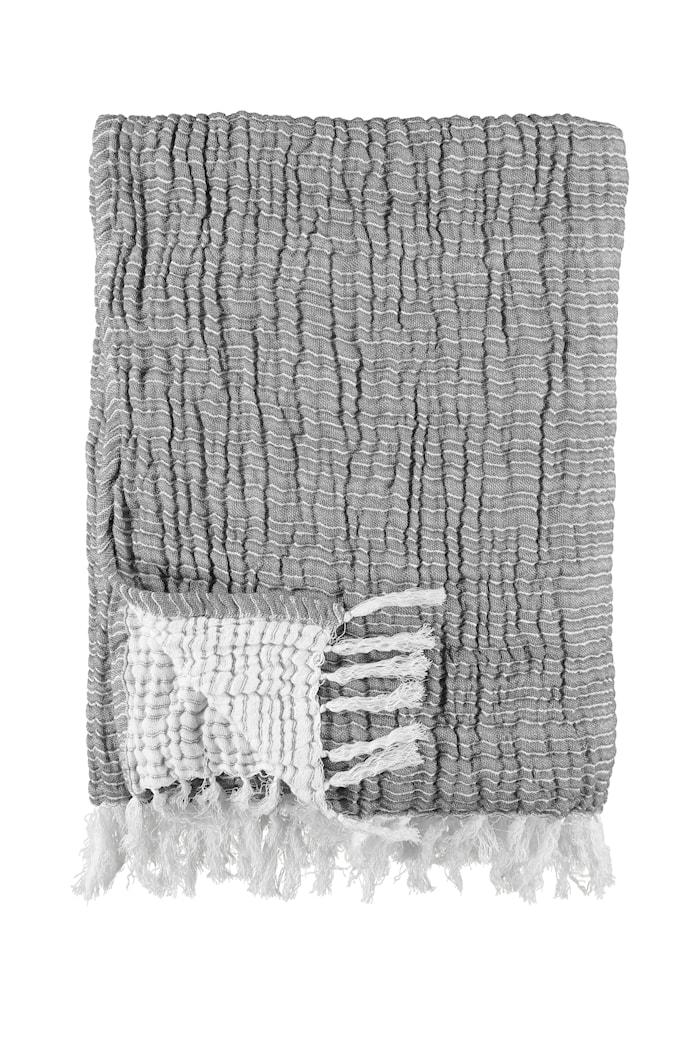 Plaid 170x130 cm - Lysegrå