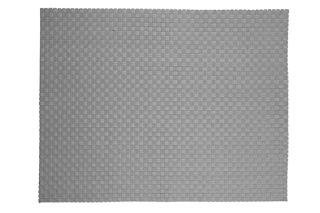 Dækkeserviet - Grå - Stk. - PVC - L 40,0cm - B 30,0cm - Bulk pack