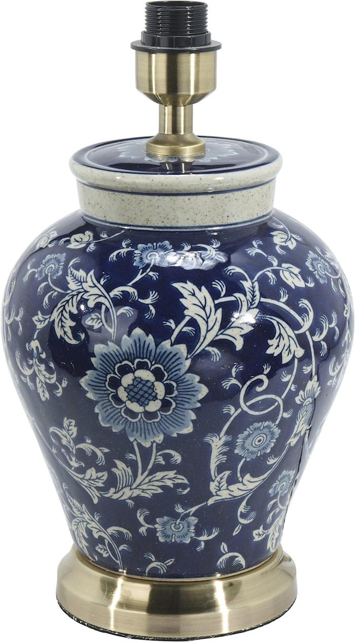 Fang Hong Lampfot Mörkblå 38cm