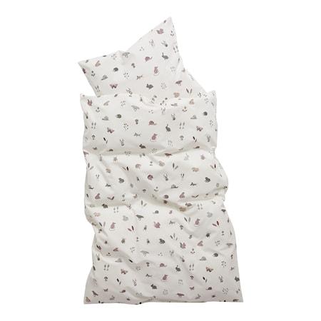 Baby Sängkläder 70x100 cm Forrest Dusty Rose