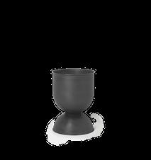 Hourglass Blomkruka Liten Svart/Mörkgrå