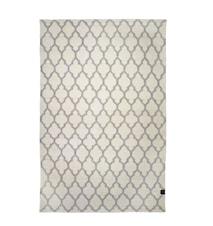 Trellis teppe hvit/grå – 170x230