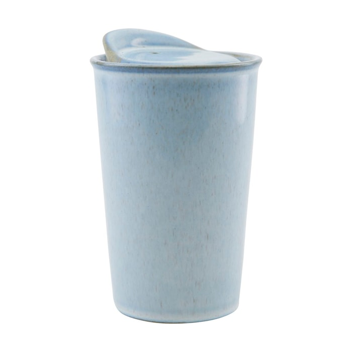 To-go mugg ljusblå