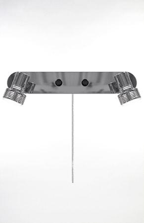 Vegglampe Axel 2 Krom