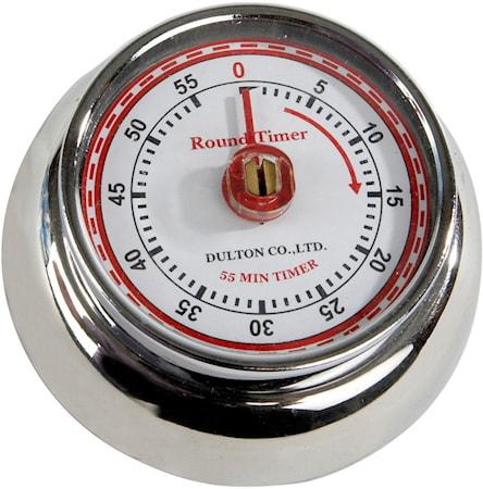 Timer Chrom 7,5 cm