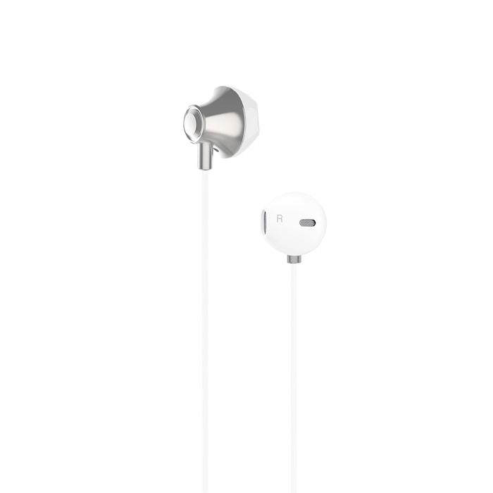 Kuulokkeet EarPod Valkoinen Metallic