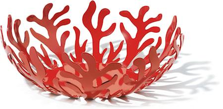 Mediterraneo Fruktkurv Ø29 cm Rød