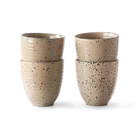 Gradient Ceramics Mugg Taupe 4 st