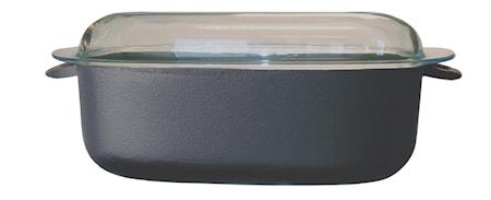 Gryta Oval 5,5 L Glaslock