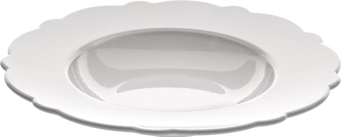Dressed Syvä Lautanen 23,3 cm, Valkoinen