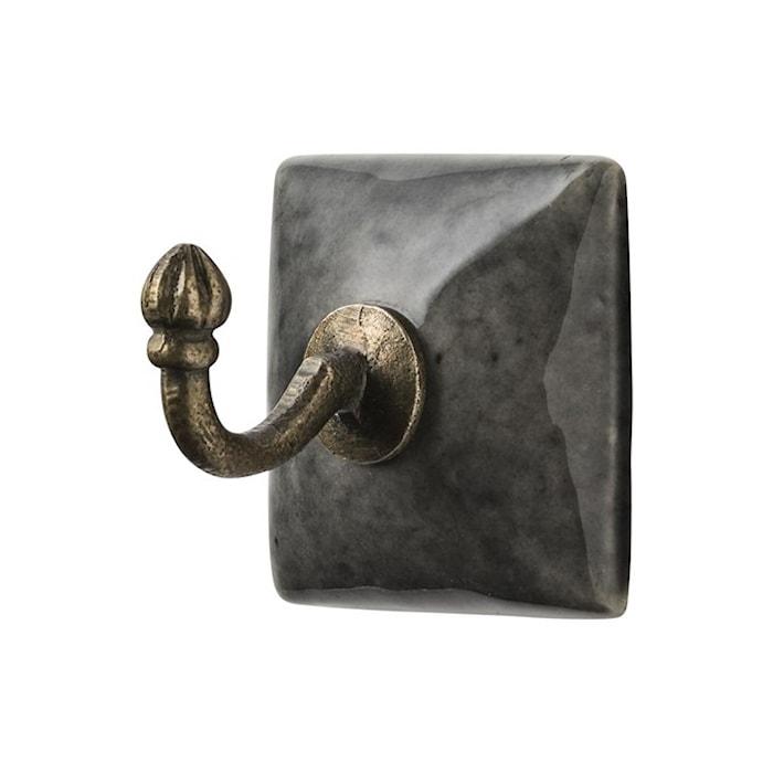 Nobilia Krok keramik 5x5 cm - Dark cement