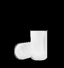 Vase Munnblåst Glass Klart 20,5 cm
