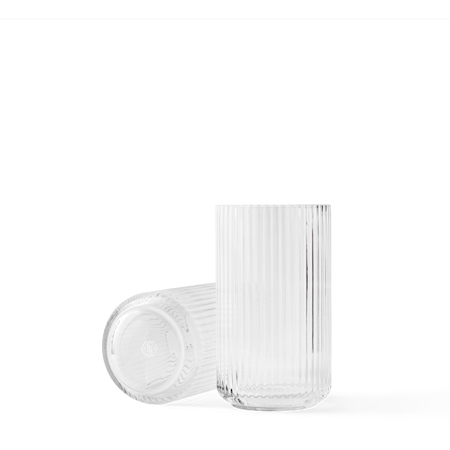 Vase Pustet Glas Klar 20,5 cm