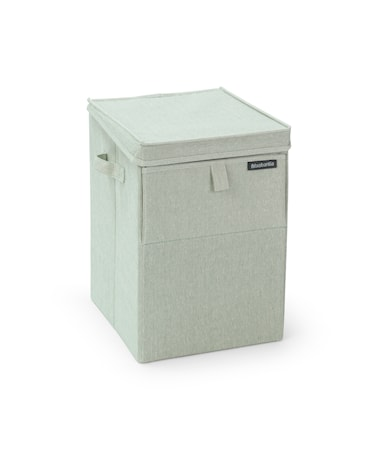 Tvättkorg Stapelbar Grön 35 L