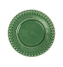 DAISY Desserttallerken Grøn 22 cm